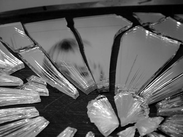 spiegel, gebroken, kwetsuren, samenwerking, herstellen, schuren, wonden, tijd